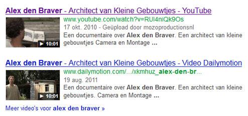 SEO Film  - Alex den Braver